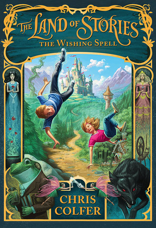 Book Cover The Land of Stories The Wishing Spell