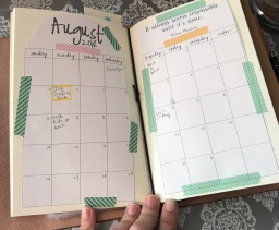 Monthly Page