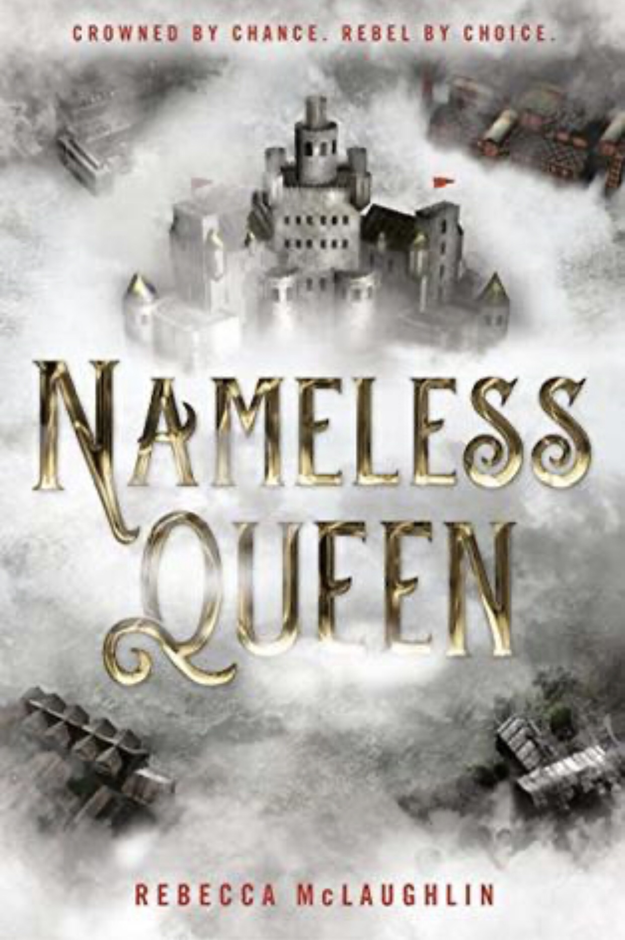 Book Cover Nameless Queen